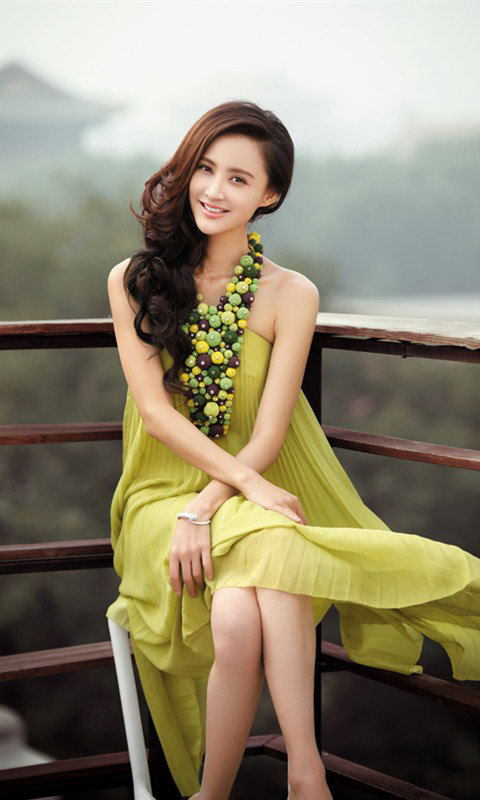 Chinese beautiful actress Zhang Xinyi wallpapers 480x800 (12)