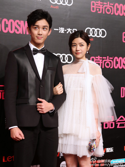 Wu Lei and Michelle Chen